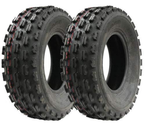 Zwei Slasher Quad Reifen, 21x7-10 Wanda Race Reifen E markierte Reifen 21 7 10
