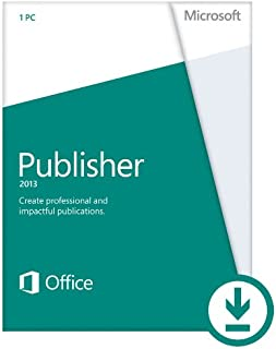 Microsoft Publisher 2013 (1PC/1User) [Download]