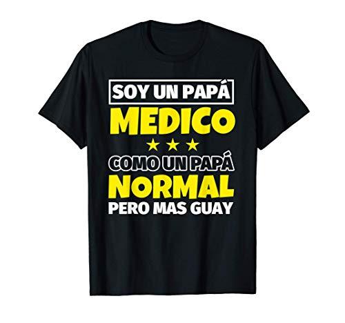 Hombre Medico Papá Regalo Camiseta