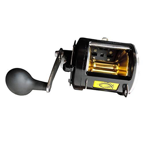 F Fityle Mulinello Traina Bobina Leggero Accessorio Pesca per Particolare Pesca Traina Mare Aperto
