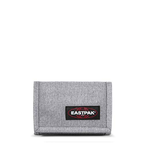 Eastpak Crew Single Geldbörse, 13 cm, Grau (Sunday Grey)
