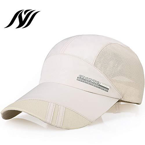 Cappello Estivo da Uomo Versione Coreana del Berretto da Baseball in Maglia da Baseball con Protezione Solare ad Asciugatura Rapida