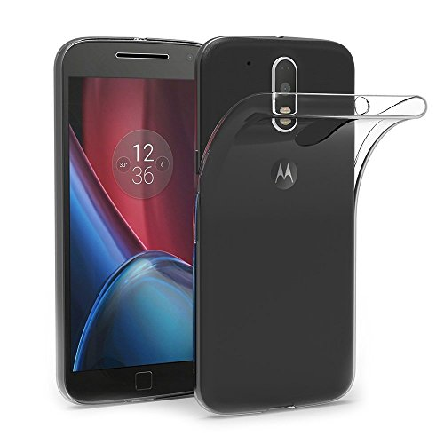 MaiJin Funda para Motorola Moto G4 / Moto G4 Plus (5,5 Pulgadas) Resistente a arañazos TPU Cubierta de Delgada Capa de Silicona en la Parte Posterior