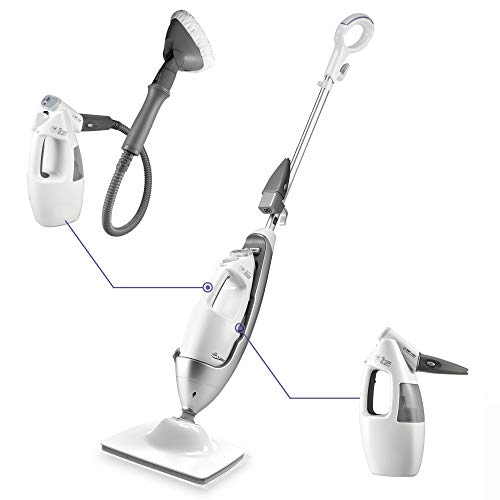 LIGHT 'N' EASY Multi-Functional steam mop Steamer for...