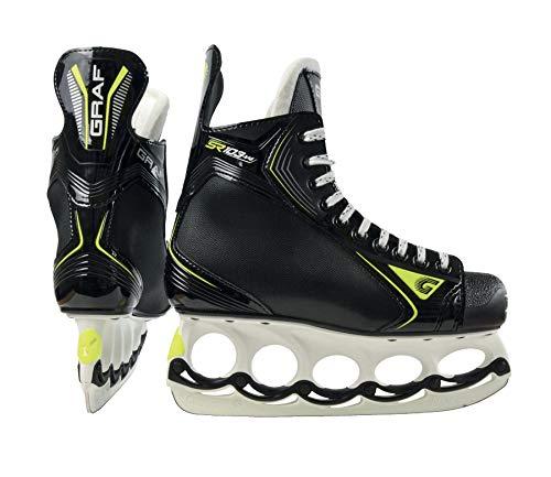 GRAF Super G 103 V4 Skate mit T-Blade System Modell 2020 Inclusive Kufenschoner, Größe:6 = 39 1/2