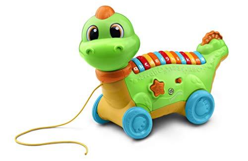 LeapFrog Lettersaurus Interactief baby-speelgoed, muzikaal baby-speelgoed met geluiden, letters en cijfers, leerspeelgoed voor baby's vanaf 18 maanden, 2 tot 3 jaar