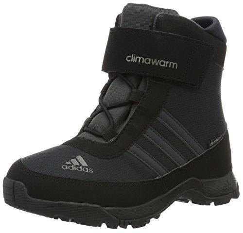 adidas adidas Unisex-Kinder Climawarm CP Outdoor Fitnessschuhe, Schwarz (Core Black/Dark Grey/Night Metallic), 31 EU