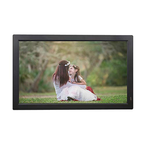 12 13 14 15 19 22 24-inch Ultra-Thin high-Definition Digital Photo Frame, high-Definition Screen Ultra-Thin Body + Tempered Glass Version of Electronic Photo Frame