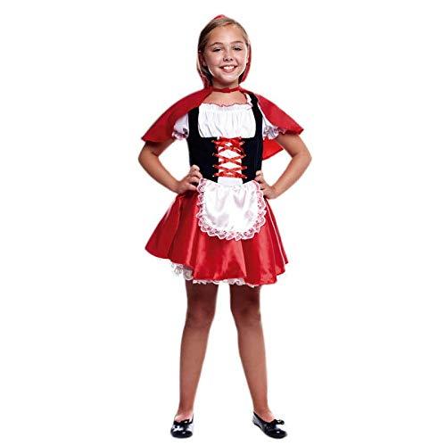 Disfraz Caperucita Niña (3-4 años) (+ Tallas) Carnaval Cuentos