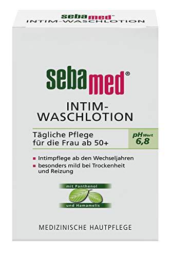 Intim-Waschlotion pH-Wert 6,8 200 ml, für die natürlich sanfte Reinigung der sensiblen, zu Trockenheit neigenden Haut im äußeren Intimbereich für Frauen in und nach den Wechseljahren empfohlen