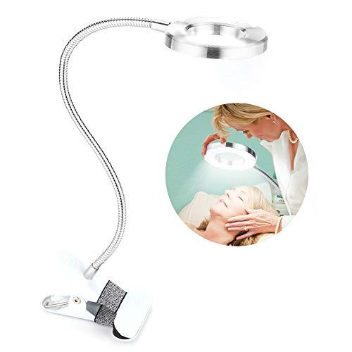 Semme Lumière de Tatouage menée, Lampe de Bureau de Salon de beauté de Maquillage de lèvre de sourcil Rechargeable par USB Rechargeable de 360 degrés