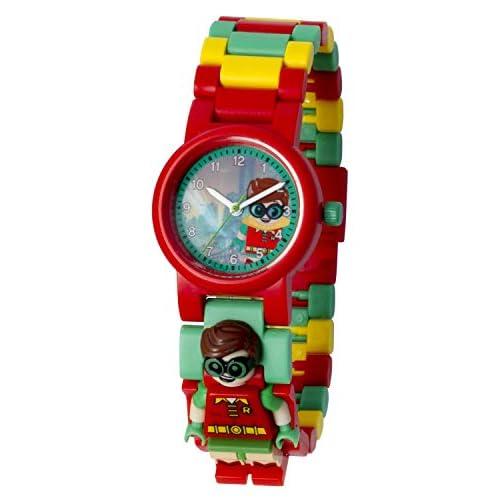 LEGO Batman 8020868 Orologio da polso componibile per bambini con minifigure Robin