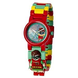 Lego Batman Movie Robin Kids Minifigure Link Buildable Watch