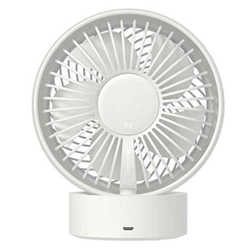 Ventilador de escritorio Bajo ruido, energía portátil Mini Mini Desktop Fan adecuado para la oficina de cocina en casa