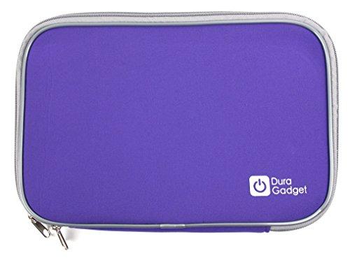 DURAGADGET Funda Morada De Neopreno para Tablet SPC Glow 10, SPC Glee 10.1 Quad Core | Resistente Al Agua
