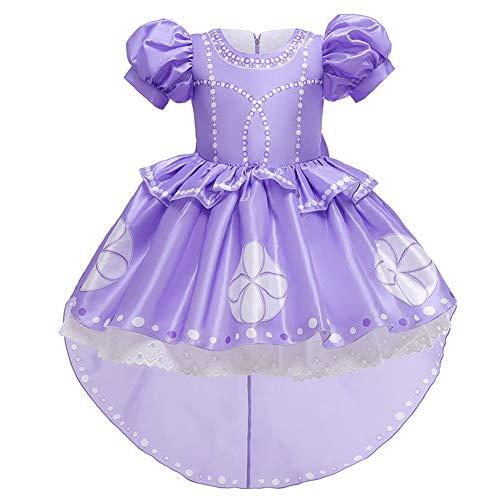 sophia gifts for a teenager boys MYRISAM Girls Sofia The First Rapunzel Princess Halloween Costume Fancy Party Cosplay Dress Up Fariy Tale Birthday Dress