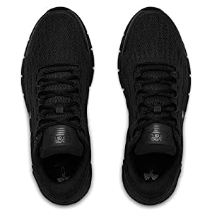 Under Armour Men's Charged Rogue Running Shoe, Black (001)/Black, 9.5