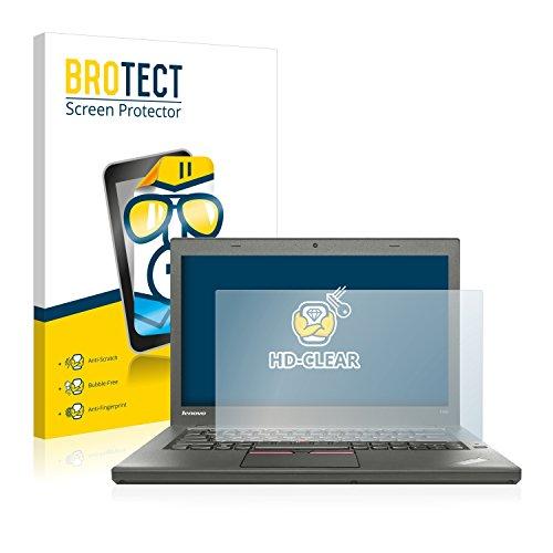 BROTECT Schutzfolie kompatibel mit Lenovo ThinkPad T450 Non-Touch klare Bildschirmschutz-Folie