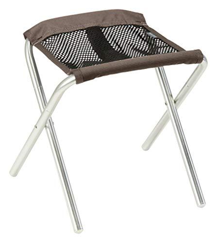 Grand Canyon SINYALA Micro - Chaise de Camping Pliante, Tabouret Pliable - jusqu'à 100 kg - Aluminium - Faucon (Marron)