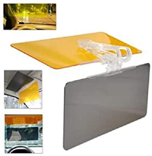 Easy Vision Prolongation de pare-soleil de voiture anti-éblouissement pour la conduite de jour et de nuit Écran anti-reflets