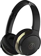 Audio-Technica ATH-AR3BTBK SonicFuel Bluetooth Wireless On-Ear Headphones with Mic & Control, Black