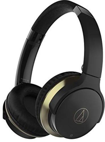 AUDIO TECHNICA ATH-AR3BTBK SonicFuel Wireless On-Ear Headphones Sonic
