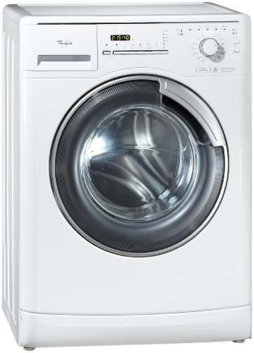 Whirlpool AWM 8000/PRO - Lavadora (Independiente, Color blanco, Frente, 8 kg, 1200 RPM, A)