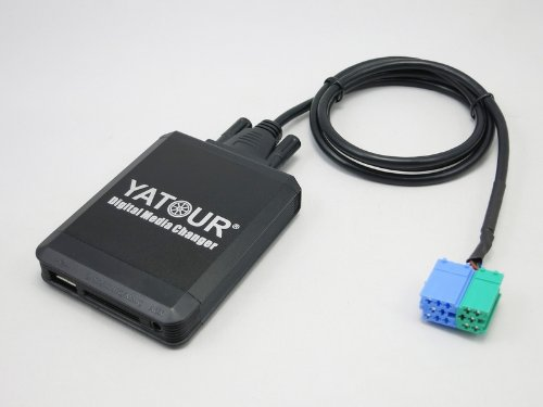 Yatour YT- M06-BEK-BT Digitaler Musikadapter USB SD AUX Bluetooth Freisprecheinrichtung kompatibel mit Becker MP3-Player