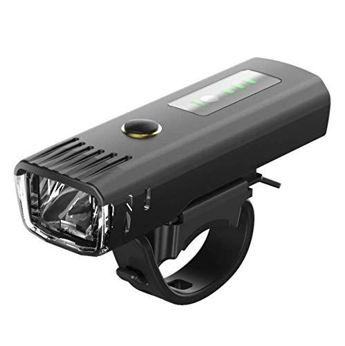 ZQJSC Lámpara de luz Frontal de luz de Bicicleta Ciclismo Luz Inteligente LED para Motocicleta de Scooter eléctrico Luces de Bicicleta