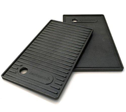 BARBECOOK Grillplatte aus Gusseisen 24 x 42 cm für Brahma Grill