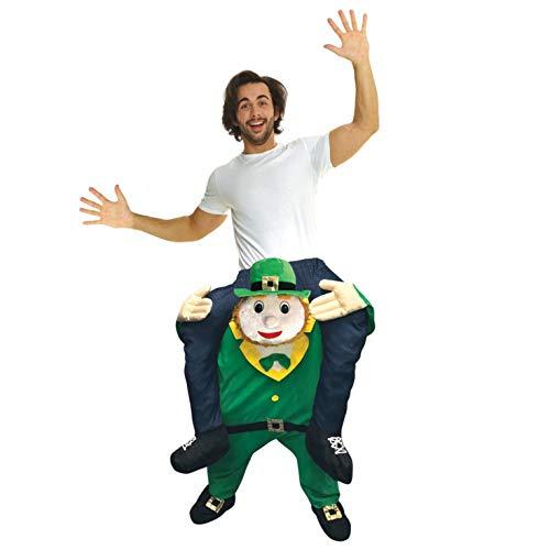Morph Costume divertente con le gambe autogonfiabili, Unisex, Diavoletto, Taglia unica