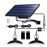 Luces solares para jardín IP65 Luz colgante solar impermeable de...