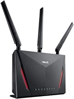 Asus ASUS AC2900 WiFi Dual-band Gigabit Wireless Router with 1.8GHz Dual-core Processor and AiProtection Network Security PoweredTrend Micro, AiMesh Whole Home WiFi System Compatible (RT-AC86U)