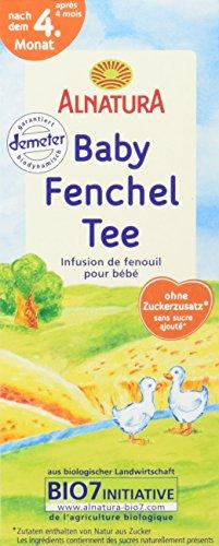 Alnatura Bio Baby-Fenchel-Tee, 8er Pack (8 x 35 g)
