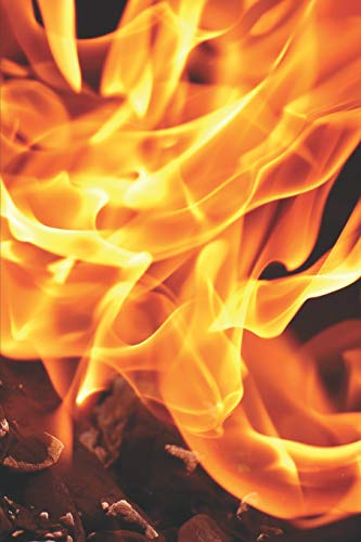 Mein Grillbuch: ♦ deine eigenen Grillrezepte auf einen Blick ♦ Vorausgefülltes Grillprotokoll für deine eigenen Rezepte und Fleisch-Kreationen ♦ ... ♦ 6x9 Format ♦ Motiv: Flamme