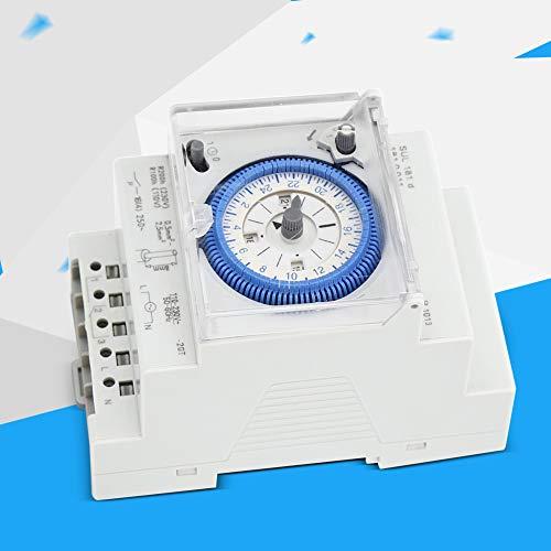 Interruptor de tiempo, interruptor de temporizador de 24 horas, industria de resistencia a altas temperaturas, luz de calle, electrodomésticos para control industrial