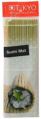 TOKYO design studio Tapis à Sushi, en Bois, en Bambou, 24 x 21 cm