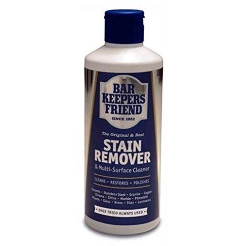 Bar Keepers Friend Universal-Reinigungsmittel für Oberflächen und Fleckenentferner, 250 g