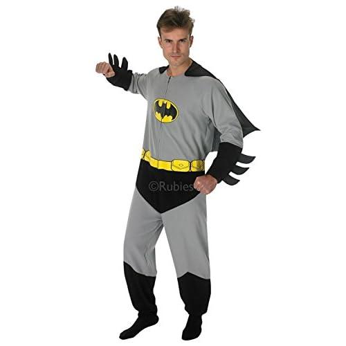 Rubie's Costume Ufficiale Batman da Uomo, Taglia L