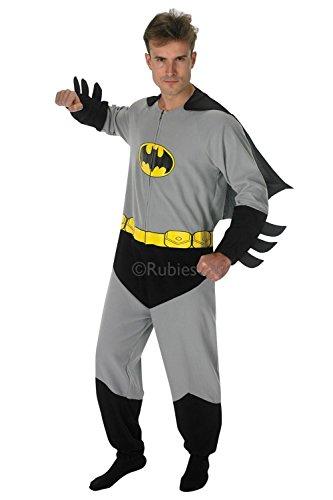 Rubie 's Offizielles Herren Batman Einteiler, Erwachsene Kostüm–Große