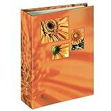 Hama Singo 106260-Álbum de Fotos, 100 páginas, Color Naranja, 10x15cm