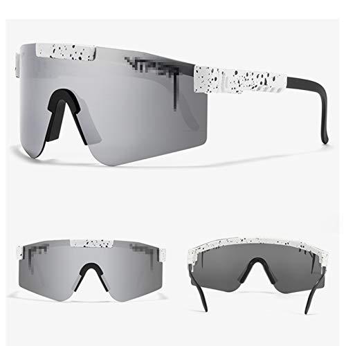 ACJB Gafas de Sol, Gafas de Ciclismo al Aire Libre, para Hombres Ciclismo Mujeres Deportes Pesca De Golf Béisbol Gafas Running