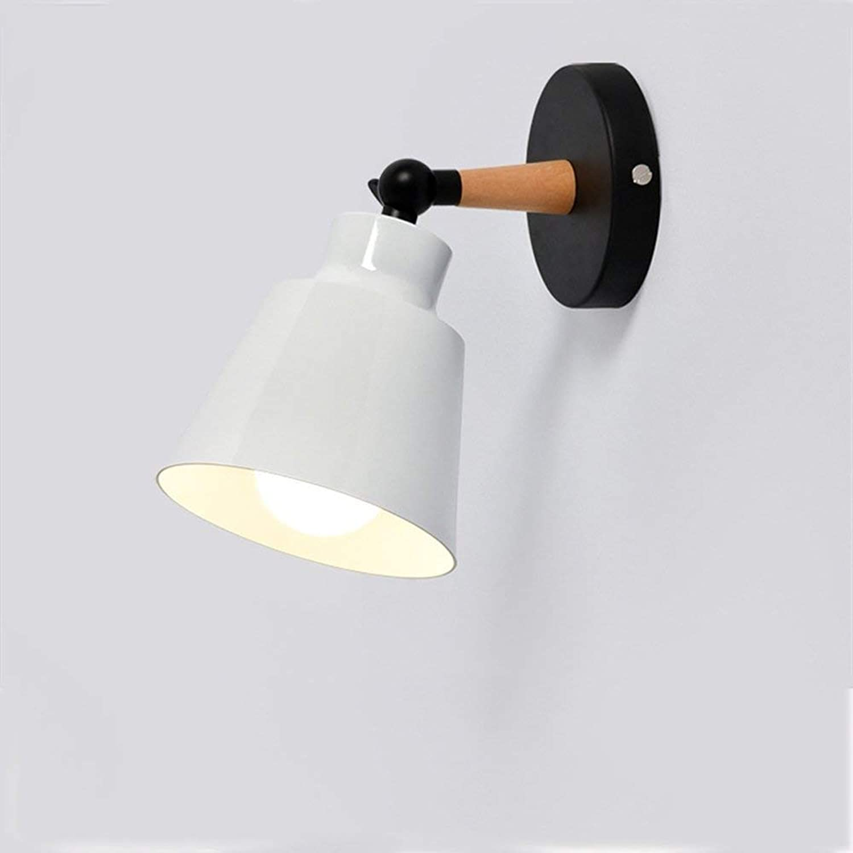 NANGE Einstellbare Wandleuchte, Moderne Einfache Kreative Wandleuchte, Wohnzimmer Hintergrund Gang Schlafzimmer Nachtwandleuchten, E27, Ohne Lichtquelle (110V-240V)