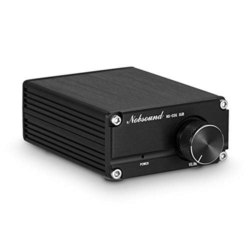 Nobsound 100W Subwoofer / Full Frequency Mono Channel Digital Power Amplifier Audio Mini Amp (Subwoofer, Gray)