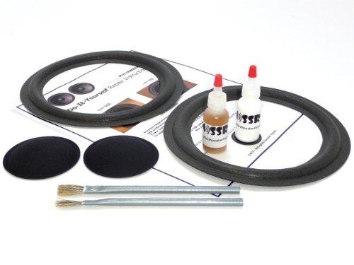 """Complete Dahlquist 8"""" Speaker Foam Surround Repair Kit - 8 Inch"""