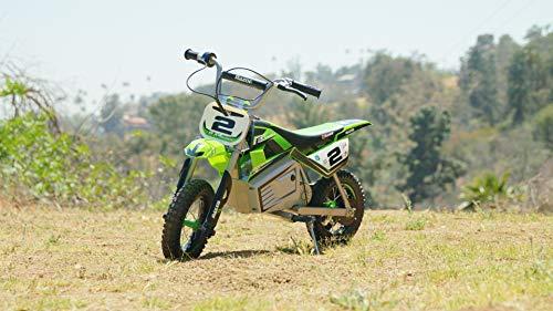 Razor Kids' Razsx350 Dirt Rocket Sx350 Mcgrath, Green, M