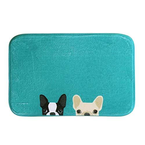 sala de estar alfombras perro impreso Felpudo Rectangular