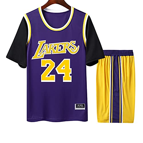 CAMILYIN Camiseta de baloncesto de la NBA, 24 camisetas de baloncesto para...
