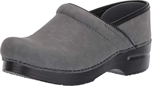 Dansko Professional Grey Microbuck 41 (US Women's 10.5-11) Regular