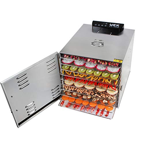 Best Buy! 10-Tray Electric Food Dehydrator with Temperature Controller Professional & Timer Digital ...